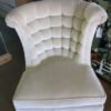 "Ebanista ""Harlow"" Tufted Lounge Chair"