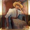 Impressionist Painting of Woman