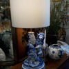 Galle St. Clamente Faience 19th Century Lamp